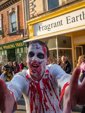 Zombie Walk, Glastonbury.