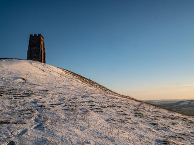 A Snowy Tor starting to thaw.