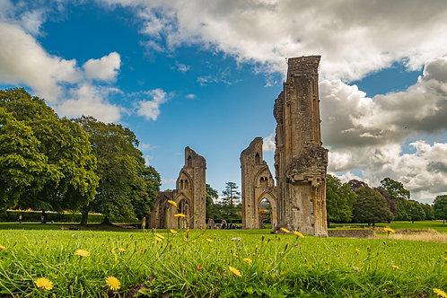 Limited Edition Canvas Glastonbury Abbey