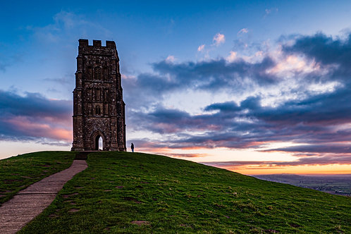 Limited Edition print of Glastonbury Tor before Dawn