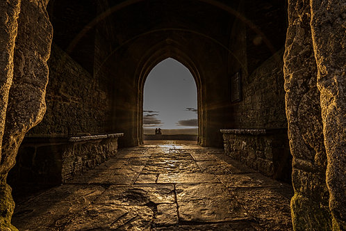 Limited edition canvas of One Archway to Another