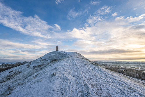 Limited Edition Print of Snowy Tor.