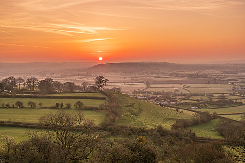 """Limited Edition Print of """"Apocalypse"""" taken from Glastonbury Tor"""