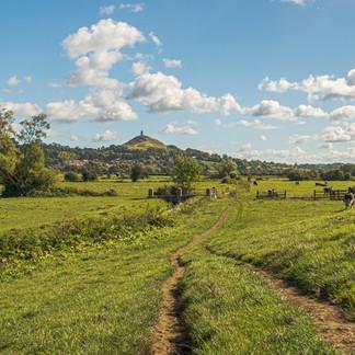 Pathway to the Tor, Glastonbury.