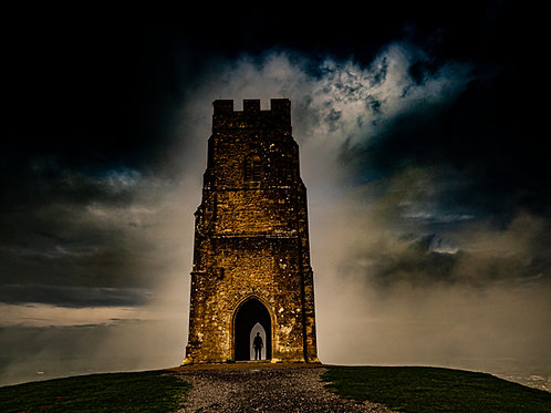 Jigsaw of The Portal on Glastonbury Tor