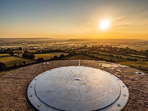 Limited edition print of Compass stone in June