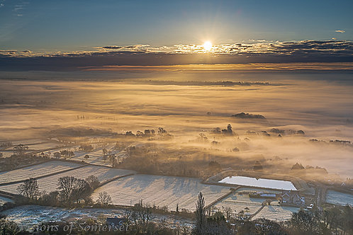Limited Edition Print of Frosty sunrise