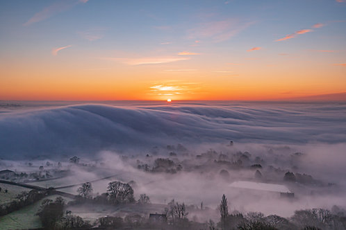 Limited Edition print of Mists of Avalon