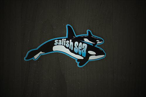 Salish Sea Orca sticker