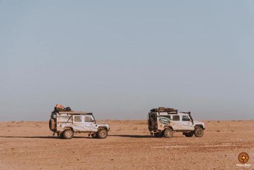 Cruising the desert