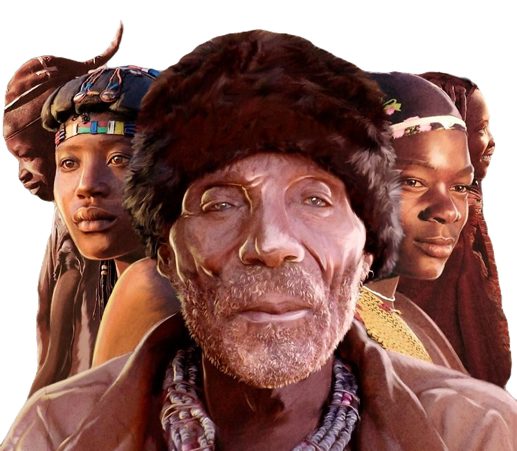Hereros Angola billboard