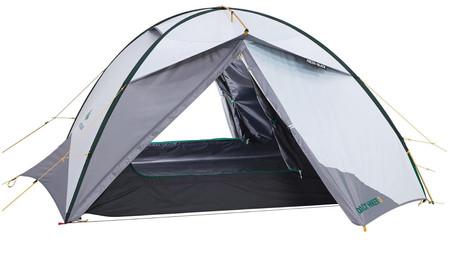 Tenda montada