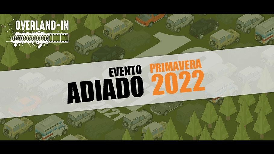 Edição Overland-IN 2021 adiada