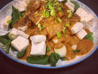 Creative kitchen: 5 minutes cooling spicy curry tofu