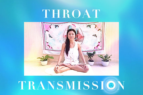 5th Transmission- Throat Chakra