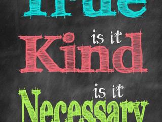 Mindful speech: 3 wisdoms to speak