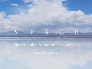 Give Space life. Let life loves you.