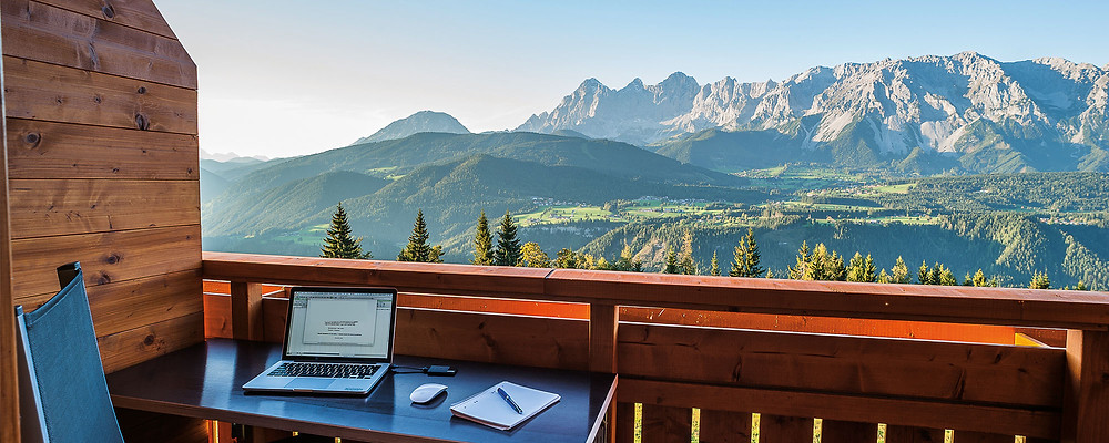 office in the nature