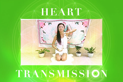 4th Transmission- Heart Chakra