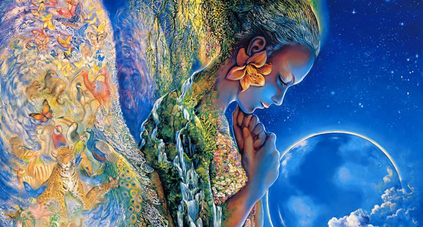 Gaia, the ancient mother of all life.