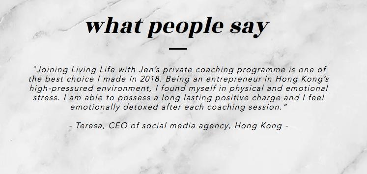 mindfulness life coaching hong kong
