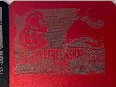 Laser Etched Anodized Aluminum Panels