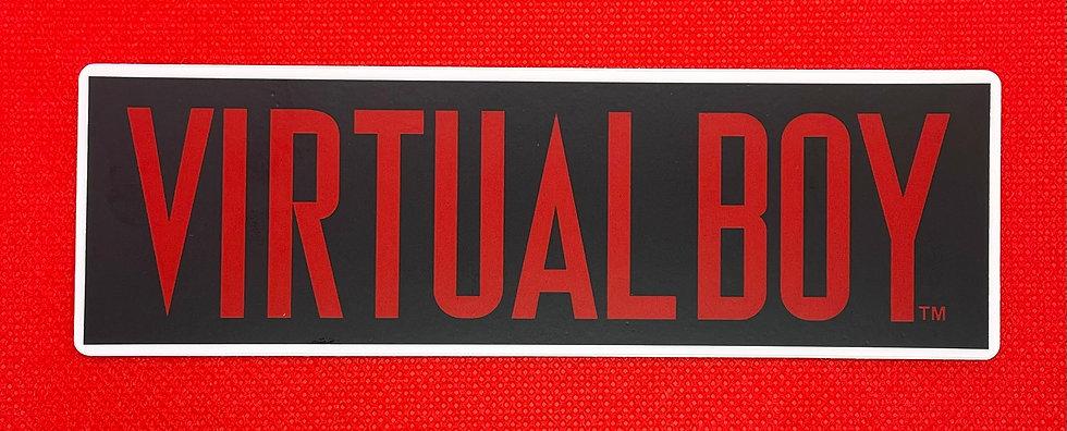 Virtual Boy Vinyl Sticker