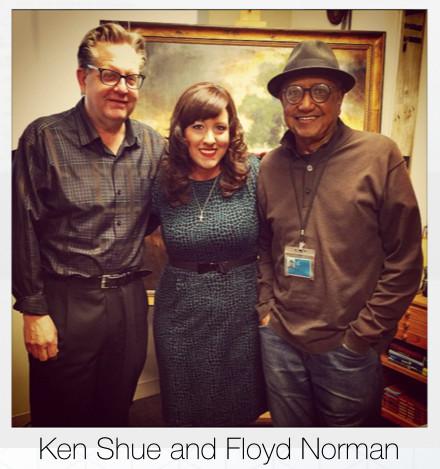 Ken Shue and Floyd Norman