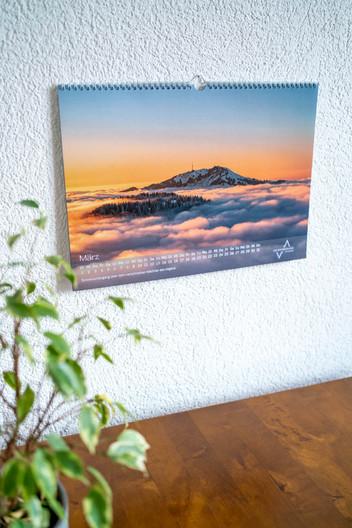 Motiv März Allgäu und die Alpenwelt Kalender 2022