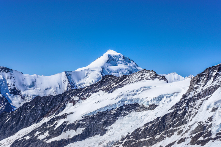 Schweizer Gletscherblick