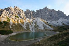 the Lachenspitze massif