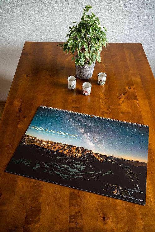 zeitloser DIN A2 Kalender: Allgäu und die Alpenwelt Version 2021