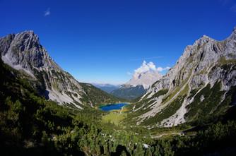 Seebensee und seine Berge