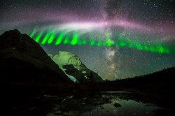 Mt. Robson & Northern Lights