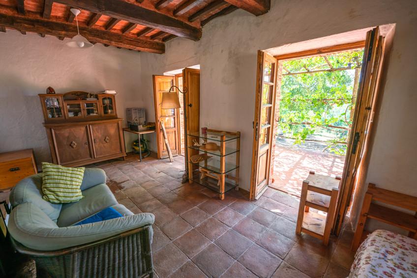 Ferienhaus in der Toskana Wohnzimmer