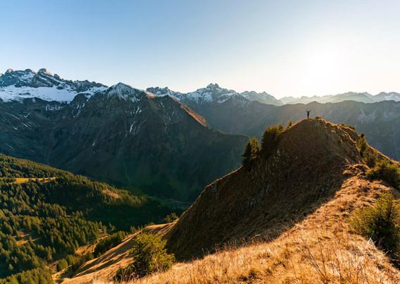 Allgäuer Berge in ihrer Pracht