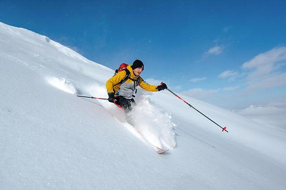Skitour Powerder Abfahrt Guentlespitze i