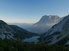 Sunrise at the Zugspitze