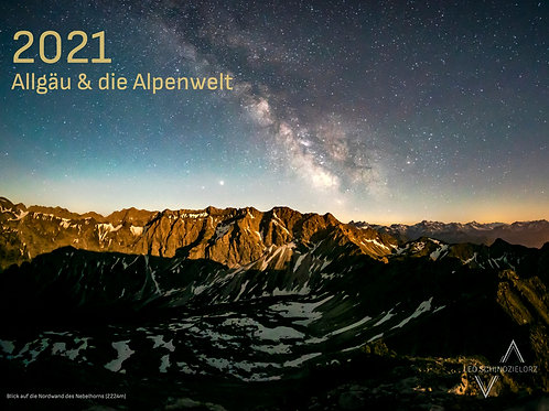 Kalender 2021: Allgäu und die Alpenwelt