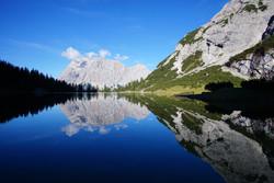 Zugspitze reflection