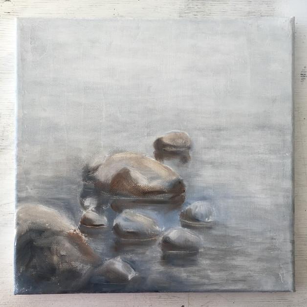 Swan painting.