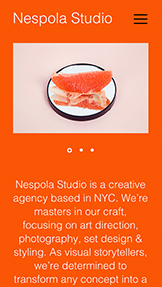 Agency website templates – Creative Director
