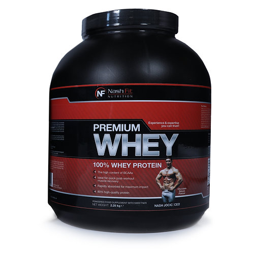 Premium Whey (2.25kg - 75 servings)