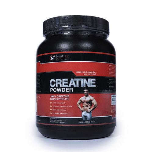 Creatine Monohydrate (0.5kg - 100 servings)