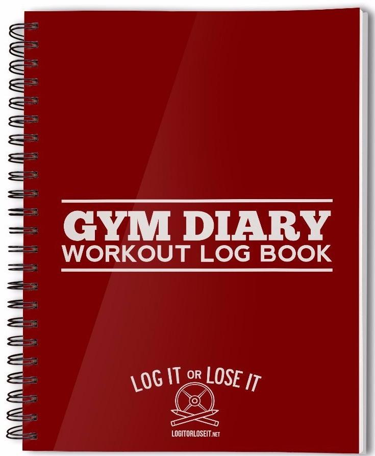 Gym Diary Log Book