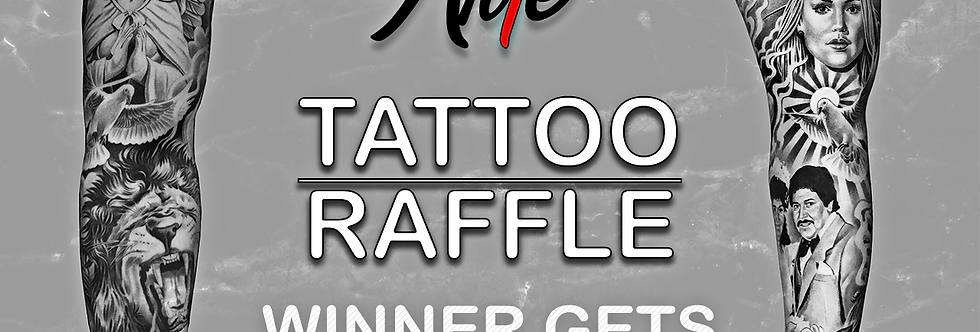 Arte Tattoo Studios | Raffle Ticket