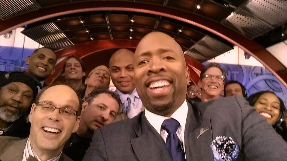 Kenny Smith Oscar Selfie