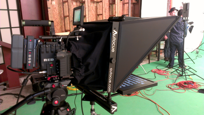 "Our New 17"" Autocue Wide Angle"