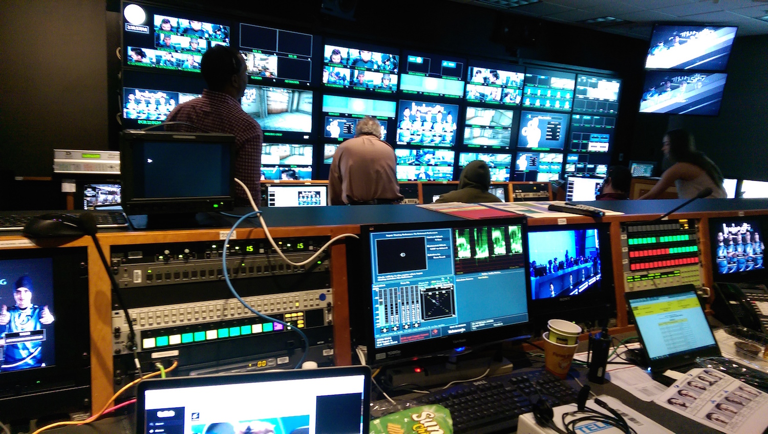 ELEAGUE Control Room