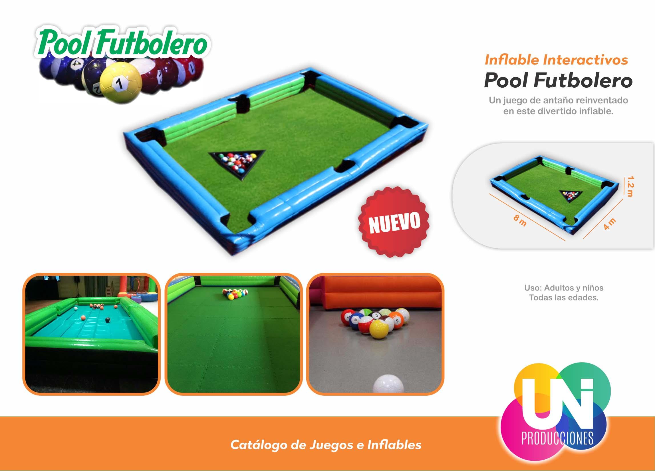 Pool Futbolero